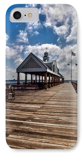 IPhone Case featuring the photograph Gone Fishing by Sennie Pierson