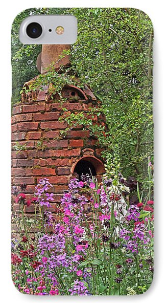 Gone To Pot - The Potter's Flower Garden IPhone Case