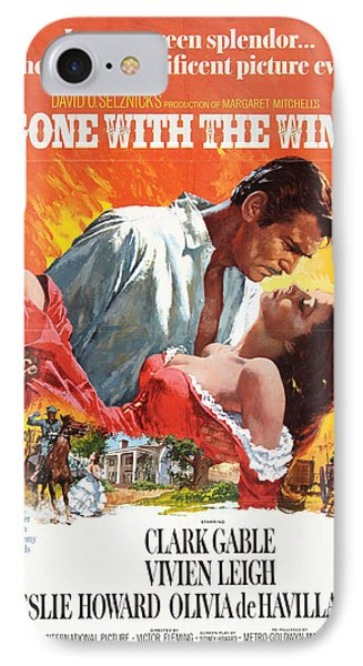 Gone With The Wind - 1939 IPhone Case by Georgia Fowler