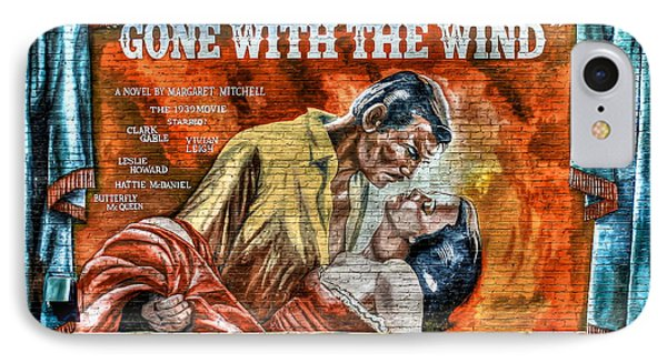 Gone With The Wind IPhone Case by Reid Callaway