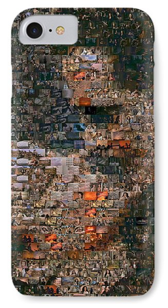 Gone With The Wind Scene Mosaic IPhone Case