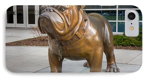 Gonzaga Bulldog IPhone Case by Inge Johnsson