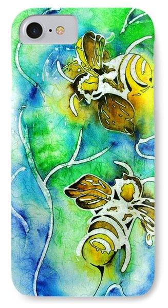 Good Day To Be A Bee Phone Case by Pat Purdy