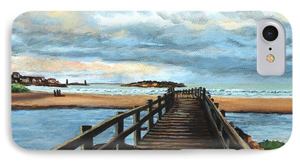 Good Harbor Beach Gloucester IPhone Case by Eileen Patten Oliver