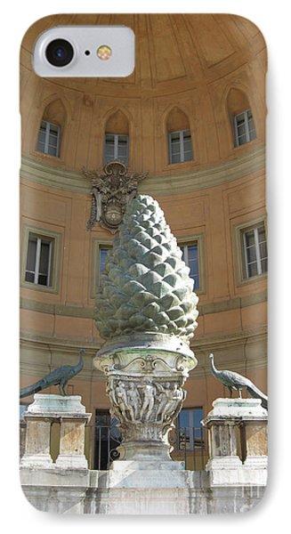 Good Luck Pineapple And Peacocks Phone Case by Deborah Smolinske