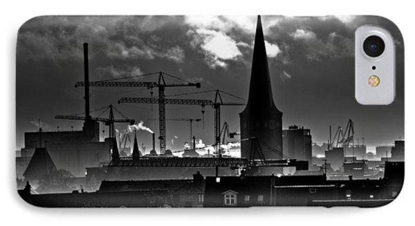good morning Aarhus IPhone Case by Michael  Bjerg
