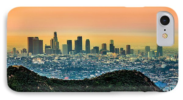 Good Morning La IPhone Case
