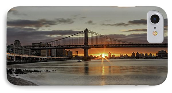 IPhone Case featuring the photograph Good Morning Nyc  by Anthony Fields