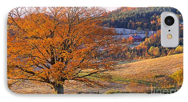 Good Morning Vermont IPhone Case by Alan L Graham
