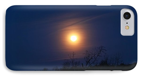 Good Night Moon IPhone Case by Geri Glavis