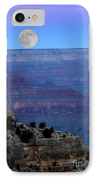 Good Night Moon IPhone Case by Patrick Witz