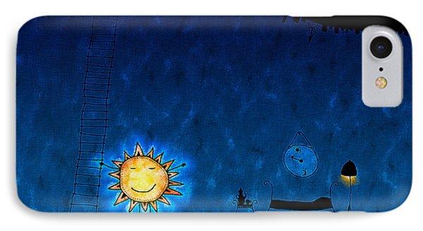 Good Night Sun Phone Case by Gianfranco Weiss