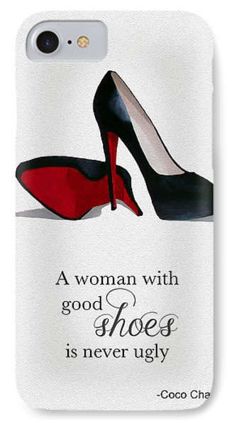 Good Shoes IPhone Case by Rebecca Jenkins