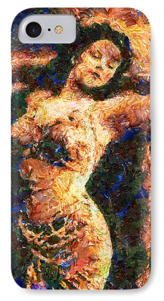Good Time Girl - Abstract Expressionism IPhone Case