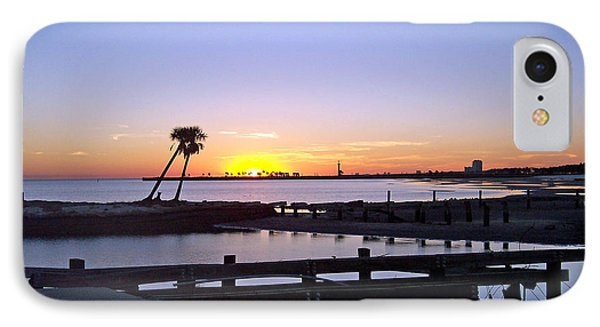 IPhone Case featuring the photograph Goodbye Sun by Roberta Byram