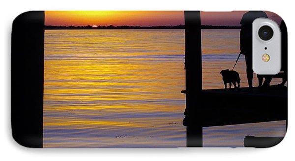 Goodnight Sun Phone Case by Karen Wiles