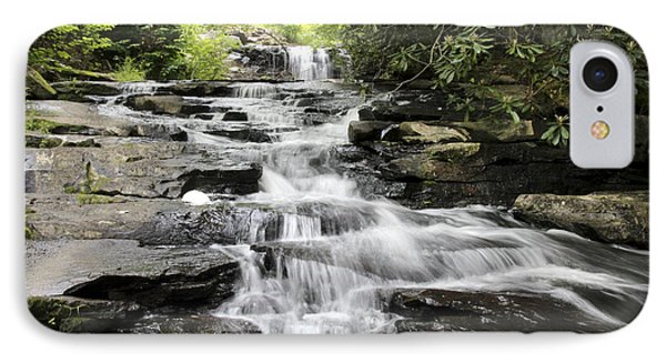 Goose Creek Falls IPhone Case by Robert Camp