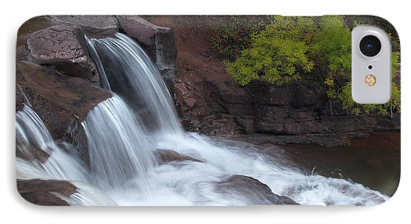 IPhone Case featuring the photograph Gooseberry Falls In Slow Motion by James Peterson