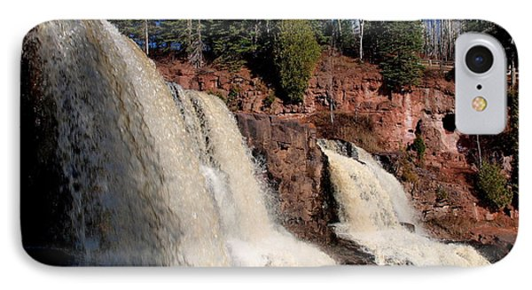 Gooseberry Falls IPhone Case by James Peterson