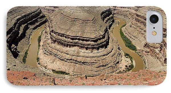 Goosenecks - San Juan River IPhone Case by Christine Till