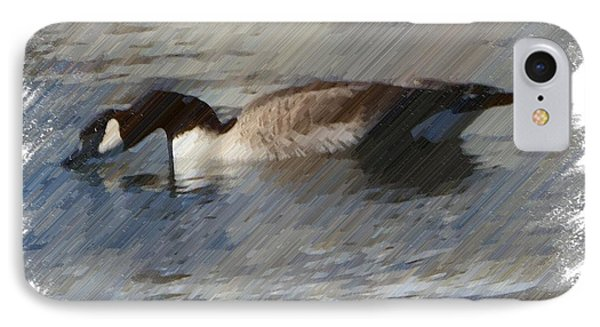 Goosey Lucy Painting IPhone Case by Bobbee Rickard
