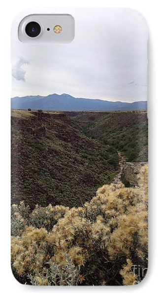 Gorge In Taos IPhone Case