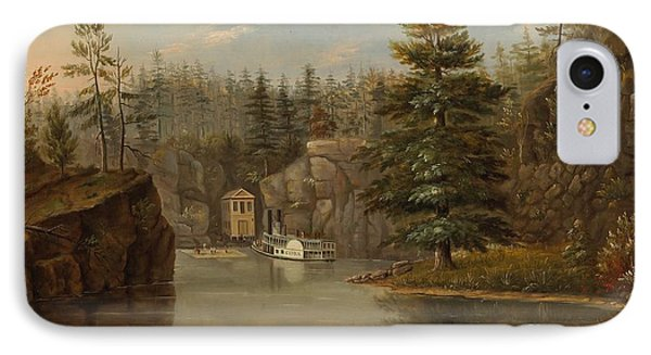 Gorge Of The St Croix IPhone Case by Henry Lewis