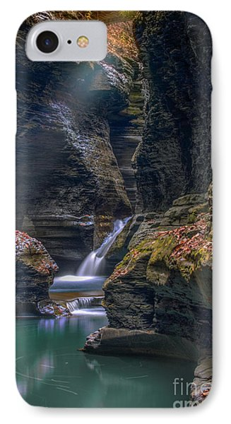 Gorge Serenity IPhone Case by Marco Crupi