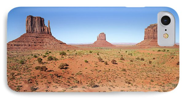 Gorgeous Monument Valley IPhone Case by Melanie Viola