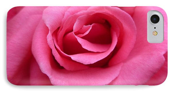 IPhone Case featuring the photograph Gorgeous Pink Rose by Vicki Spindler