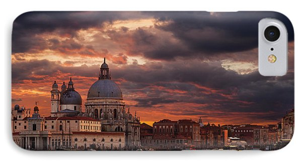 Gorgeous Sunset Over Grand Canal In Venice IPhone Case