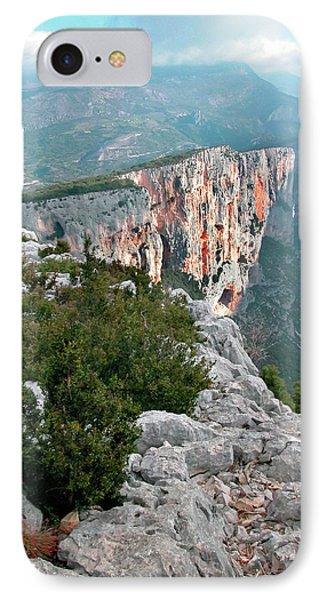 Gorges Du Verdun Phone Case by Alan Toepfer