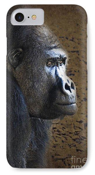 Gorilla Portrait IPhone Case