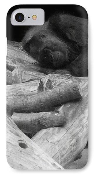 Gorilla IPhone Case by Art Spectrum