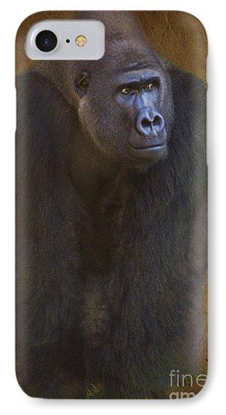 Gorilla The Muscleman IPhone Case