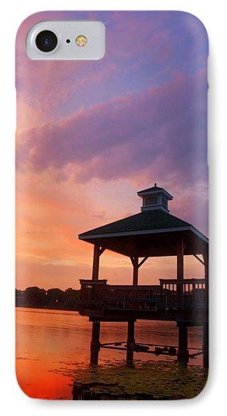 Gorton Pond Beauty Warwick Rhode Island IPhone Case by Lourry Legarde