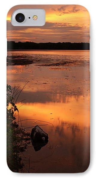 Gorton Pond Warwick Rhode Island IPhone Case by Lourry Legarde