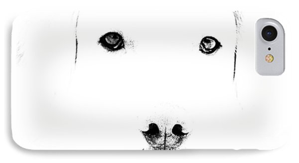 Dog Face IPhone Case by Mike Santis