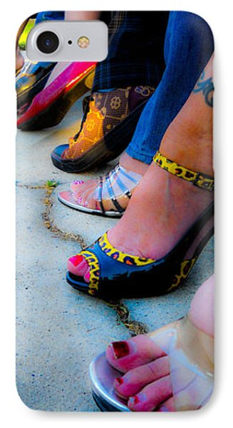 IPhone Case featuring the photograph Got Shoes by Kristen R Kennedy