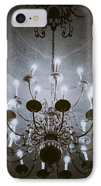 Goth Chandelier IPhone Case by Marianna Mills
