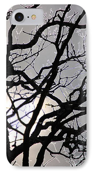 Goth Tree Phone Case by First Star Art