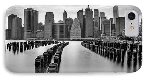 Gotham City New York City IPhone Case by Susan Candelario