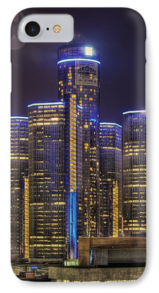 Gotham Detroit IPhone Case by Nicholas  Grunas