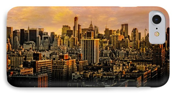 IPhone Case featuring the photograph Gotham Sunset by Chris Lord