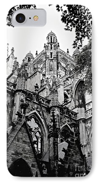 Gothic Cathedral Of Den Bosch Phone Case by Carol Groenen