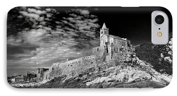 IPhone Case featuring the photograph Gothic Church Of St. Peter Porto Venere Italy by John Hix
