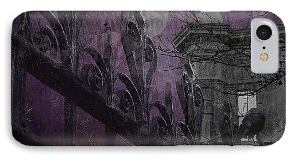 Gothic Moonlight IPhone Case by Suzanne Powers