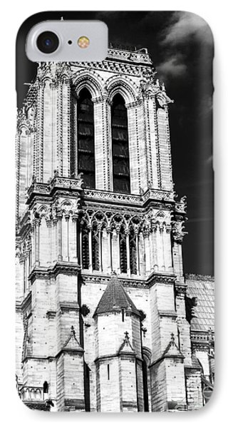 Gothic Notre Dame Phone Case by John Rizzuto