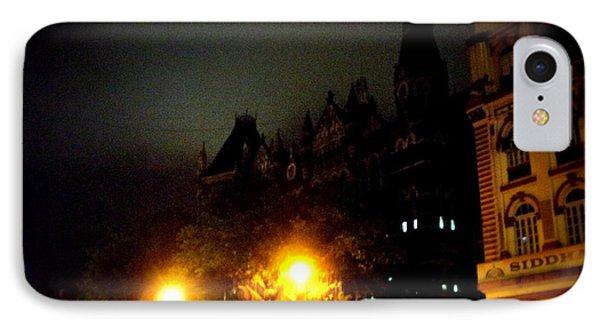 Gothic Skyline IPhone Case by Salman Ravish