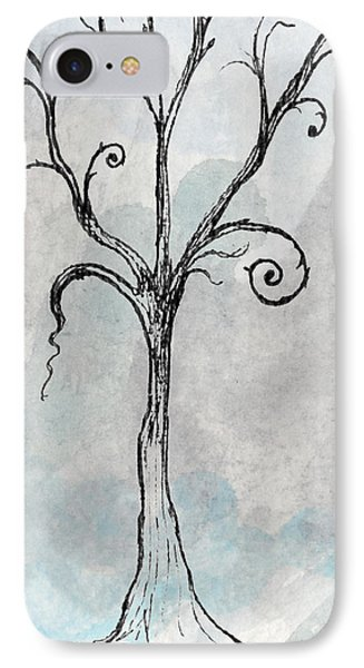 Gothic Tree Phone Case by Jacquie Gouveia